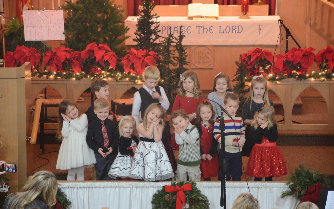 Sunday School Christmas Eve Program