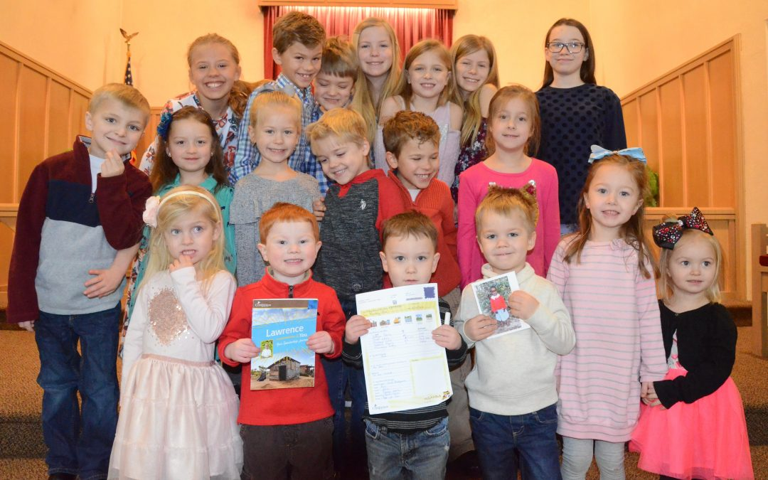 Sunday School Sponsors Through Compassion International