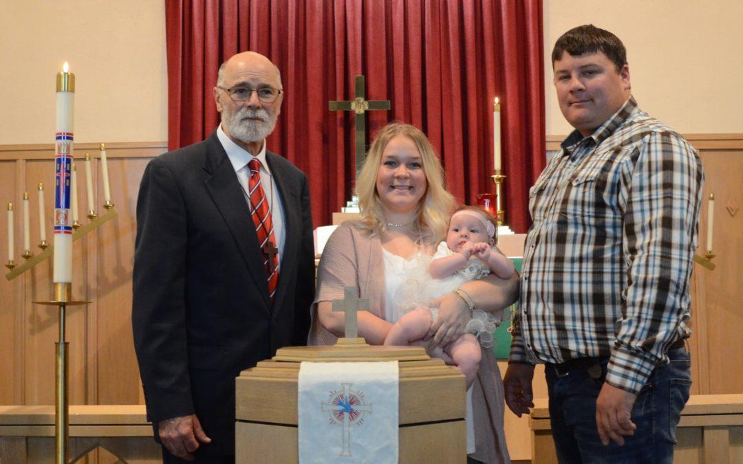 Ellisen Kay Haynes – Baptism