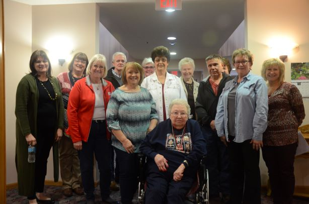 Singing and Visiting at Ridgeview & Belle Terrace