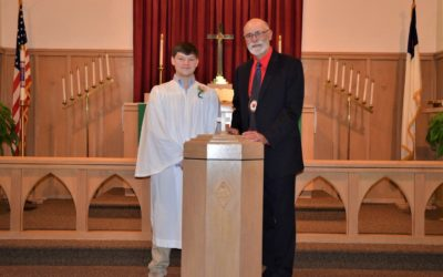 The Rite of Confirmation at Martin Luther Lutheran Church