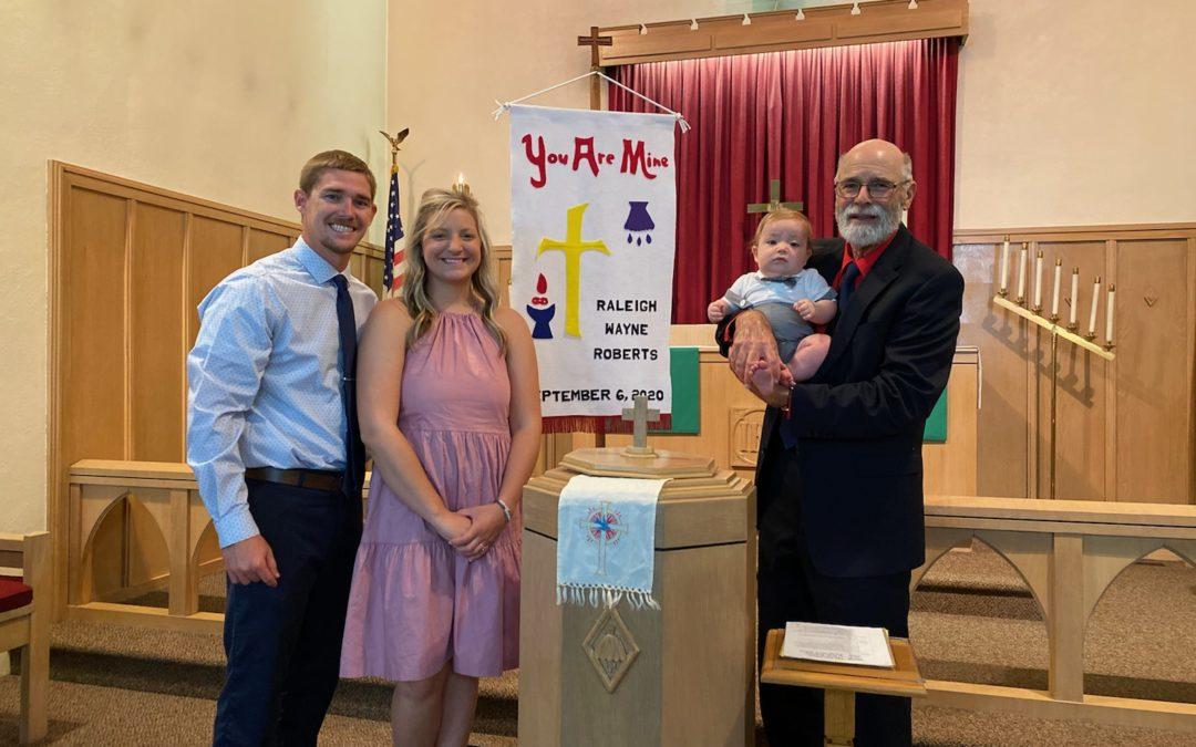 Raleigh Wayne Roberts – Baptism
