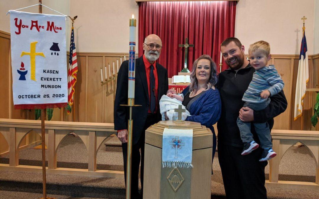 Kasen Everett Munson – Baptism