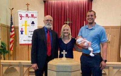 Carter Aden Pelchat – Baptism