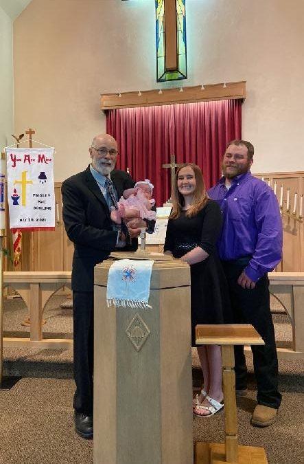 Paisley Mae Bohling – Baptism